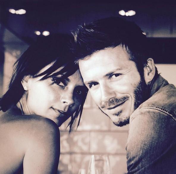 Victoria e David Beckham (Foto: Instagram)