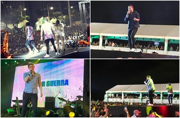 Show Encanta Ceará foi sucesso e será exibido na TV. (Foto: Allyson Pontes / TV Verdes Mares)