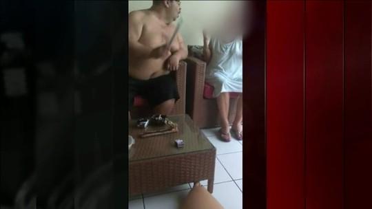 Polícia investiga agressões a idosa registradas em vídeo