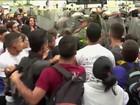 Venezuela tem protestos contra fechamento do Congresso