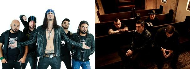 Kiara Rocks e Avenged Sevenfold também se apresentam no último dia do festival (Foto: Divulgação / Reprodução)