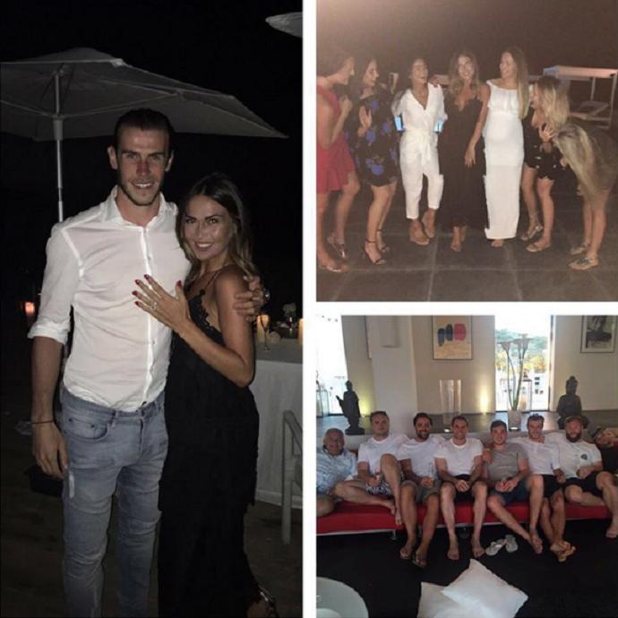 BLOG: De férias, Bale anuncia noivado com namorada de infância, mãe de suas filhas
