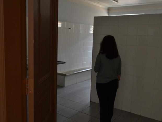 Loira do Banheiro Guaratinguetá (Foto: Filipe Rodrigues / G1)