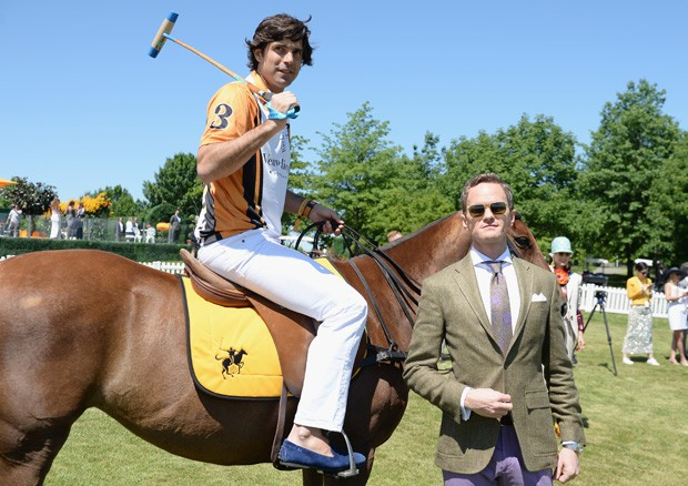 Nacho Figueras e Neil Patrick Harris (Foto: Getty Images)