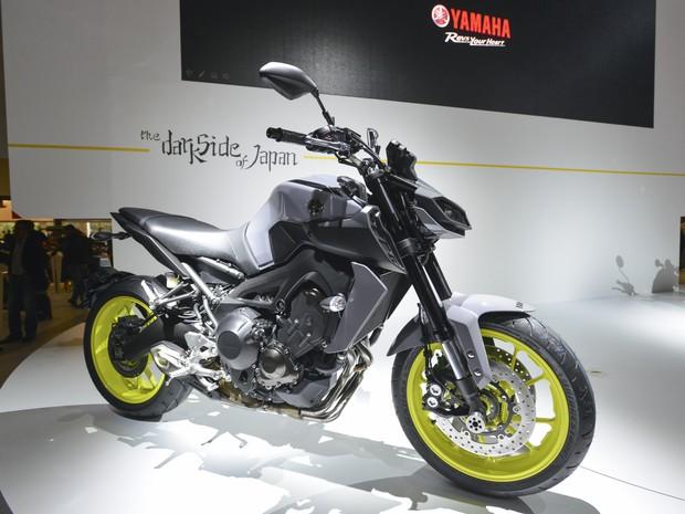 Yamaha MT-09 (Foto: Divulgação / Intermot)