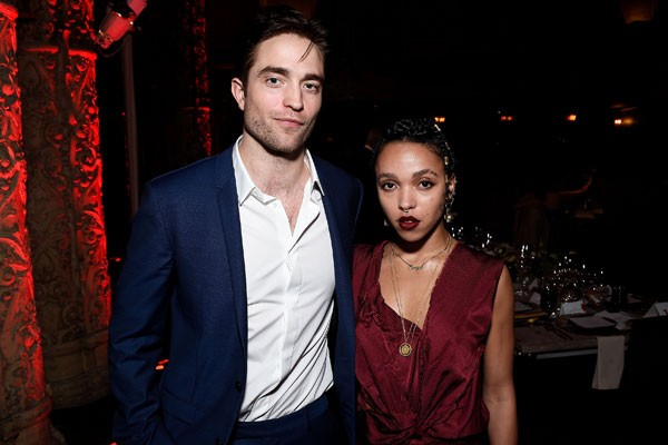 Robert Pattinson e FKA Twigs (Foto: Getty Images)