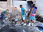 Sem unidade de bombeiros, Defesa Civil apaga incêndio em Cataguases