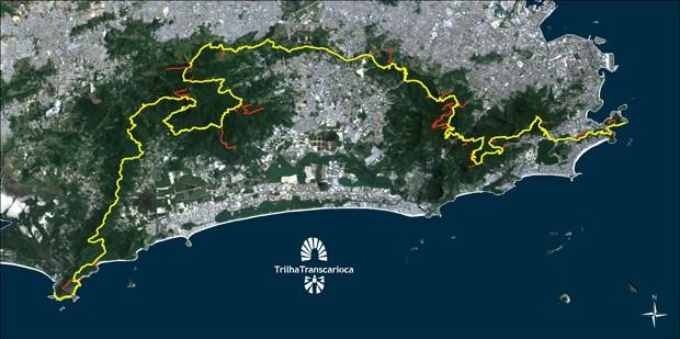 Transcarioca terá 180 km de trilhas (Foto: Divulgação / Governo do RJ)