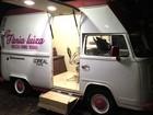Inspirada por sucesso de food trucks no DF, mulher cria 'salão sobre rodas'