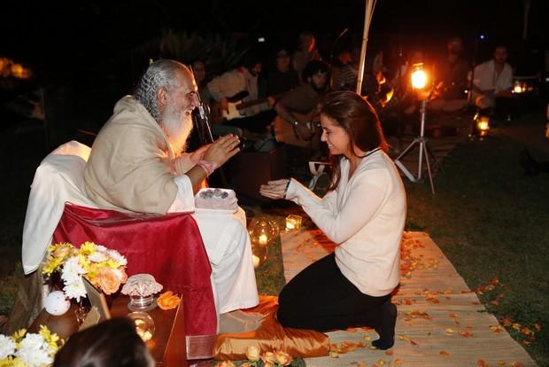 Prem Baba e Giovanna Antonelli (Foto: Divulgação)