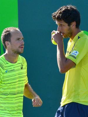 Bruno Soares e Marcelo Melo no Miami Open