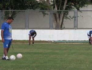 São Benedito, treino, Paulo Rossi, técnico (Foto: Juscelino Filho)
