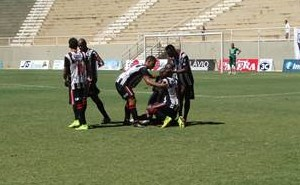 gol Nacional de Muriaé x Democrata-GV (Foto: Site Silvan Alves)