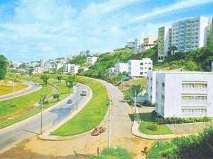 Avenida Centenário (Foto: Arquivo Histórico Municipal da Fundação Gregório de Mattos)