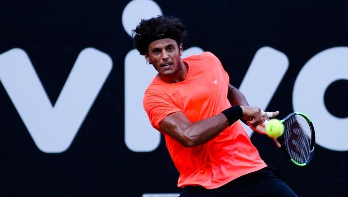 João Feijão começou com uma boa vitória no Brasil Open (Foto: DGW Comunicação)
