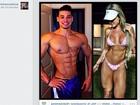 Noivo de Juju Salimeni posta foto de músculos e cita Clarice Lispector