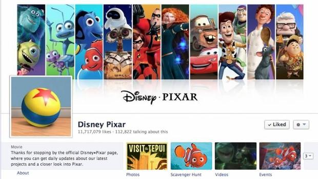 Facebook: Pixar (Foto: reprodução / internet)