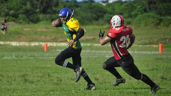 Futebol Americano Manaus (Foto: Antônio Lima/Divulgação)