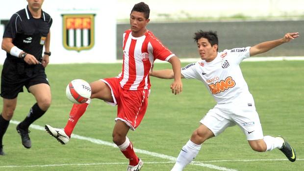 Santos e Náutico, Copa SP Junior  (Foto: Danny Cesare / Agência estado)