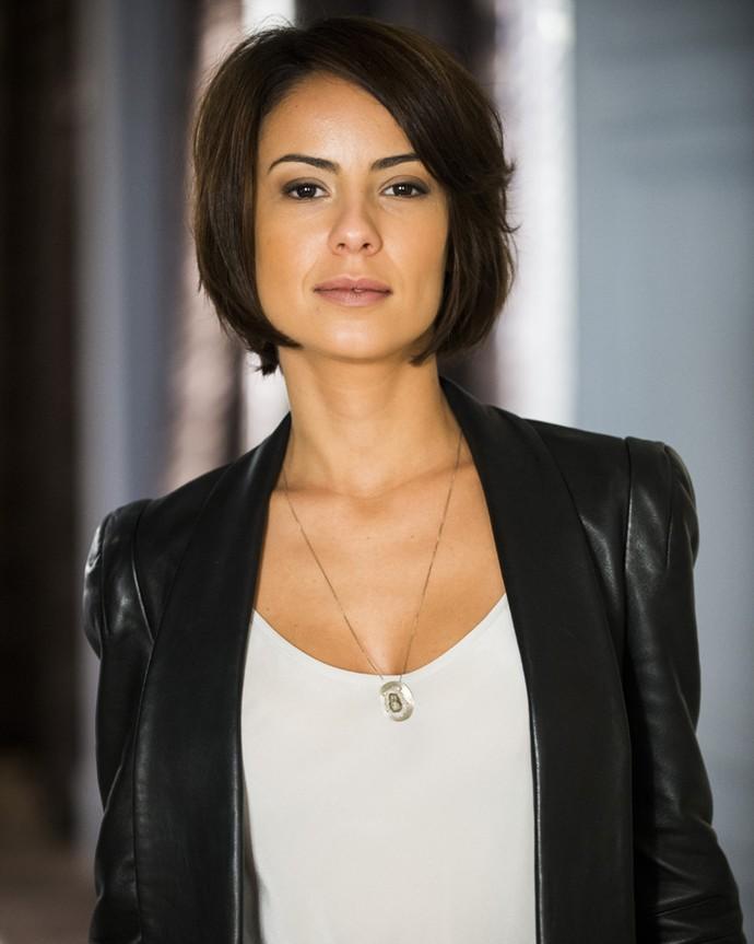 Andreia Horta como a personagem Maria Clara Medeiros, na novela Império, seu último trabalho na TV (Foto: João Miguel Júnior / TV Globo)