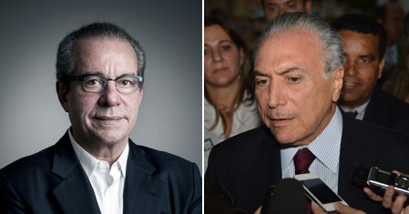 Os nomes de José Aníbal (PSDB) e Michel Temer (PMDB) aparecem em planilha apreendida na Camargo Corrêa (Foto: Camila Fontana/ÉPOCA e José Cruz/Agência Brasil)