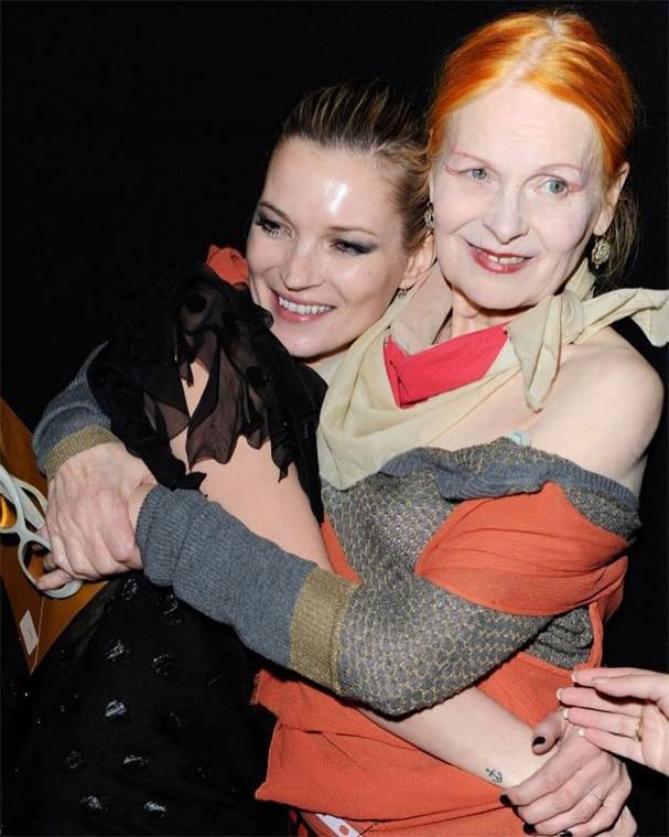 Kate Moss e Vivienne Westwood: BFFs dentro e fora das passarelas (Foto: Instagram/Reprodução)
