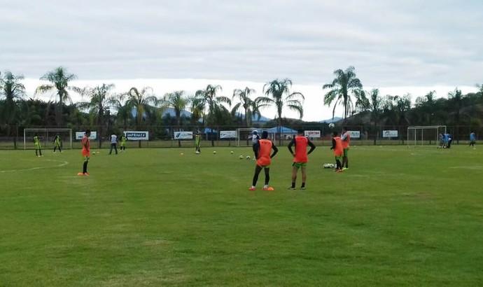 Volta Redonda já treinou em Ubá nesta segunda-feira de feriado (Foto: Divulgação/Volta Redonda FC)