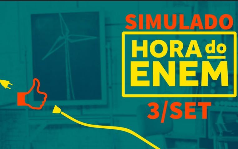 Terceiro simulado da Hora do Enem começa neste sábado (Foto: Reprodução)