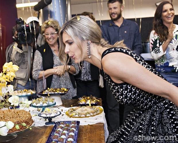 Festa Surpresa para Fernanda Lima (Foto: Dafne Bastos / TV Globo)