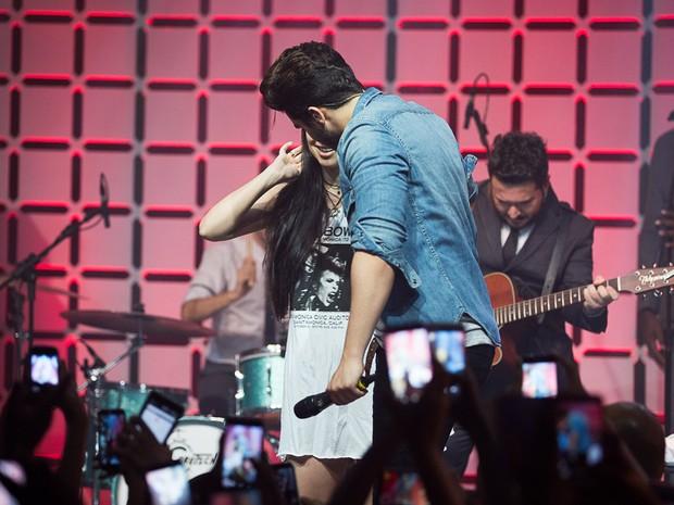 FESTIVAL TER - Show: Luan Santana, Wesley Safado e NX Zero (Foto: Andr Bittencourt)