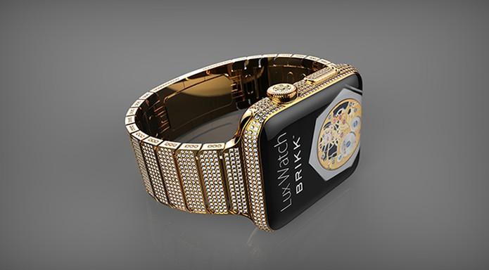 Modelo mais caro Omni cravejado com diamantes (Foto: Divulgação/Brikk)