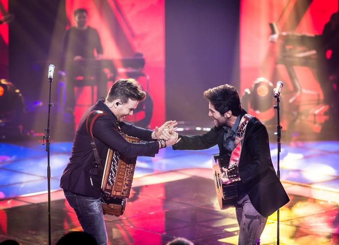 Imagem da parceria!! (Foto: Isabella Pinheiro/Gshow)