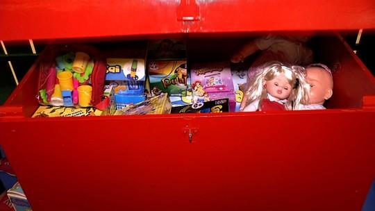 Programa mostrou uma exposição de brinquedos antigos