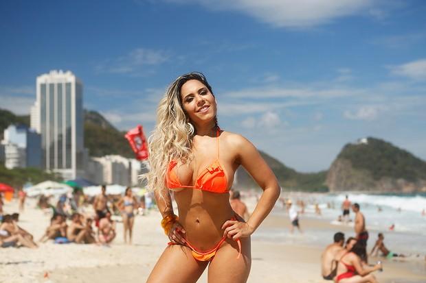 Mulher Melão posa para o EGO (Foto: Marcos Serra Lima/EGO)