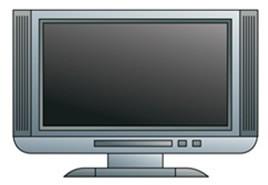 Novo padrão de TV com proporção de 16×9 (Foto: Divulgação/RPC TV)