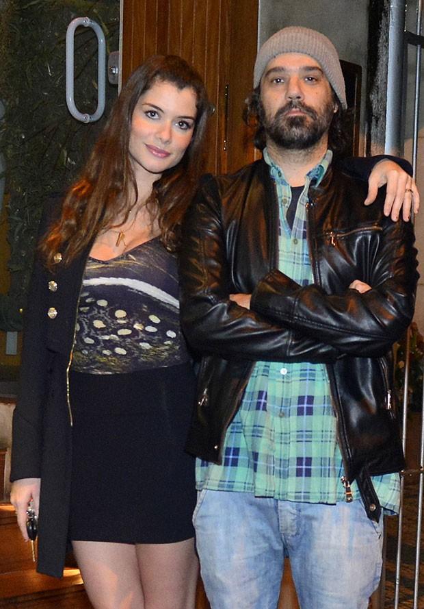 Alinne Moraes e Mauro Lima (Foto: André Muzell/AgNews)
