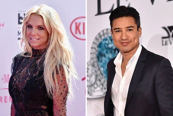Britney Spears e Mario Lopez (Foto: Getty Images)