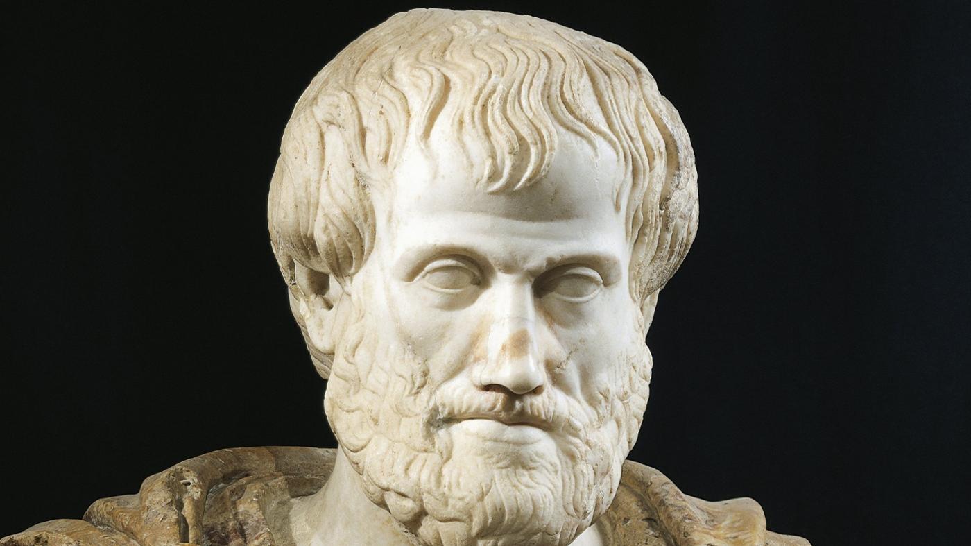 Busto de Aristóteles construído para homenagear o Liceu criado pelo filósofo (Foto: Creative Commons)