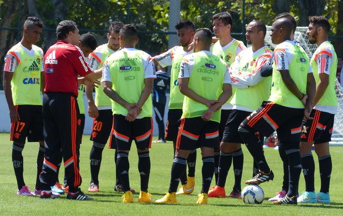 Luxemburgo Flamengo treino (Foto: Cahê Mota)