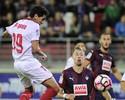 Ganso erra cabeçada aos 45 do 2º, Sevilla empata e perde posições