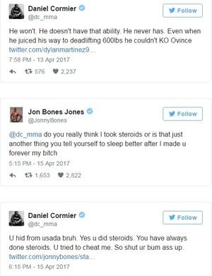 UFC Daniel Cormier x Jon Jones Twitter  (Foto: Reprodução Internet)