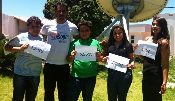 Participantes do Desafio Personal 2014 - Inter TV Grande Minas (606X349) (Foto: Adriana Lisboa)
