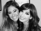 Mayra Cardi posa com Anitta: 'Amei te ver, amiga'