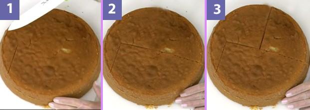 Confira o passo a passo e aprenda a cortar o bolo coelhinho (Foto: Mais Você - TV Globo)