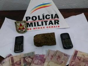 Divinopolis, Drogas, Policia, Apreensão, prisão, crime (Foto: Policia Militar/ Divulgação)