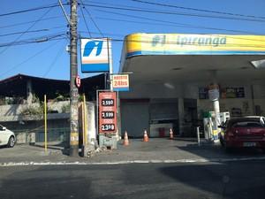 Posto Ipiranga da Federação (Foto: Maiana Belo/G1 Bahia)