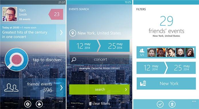 LocalEvents for Facebook é uma maneira fácil e rápida de descobrir programações com o seu Windows Phone (Foto: Divulgação/Windows Phone Store)