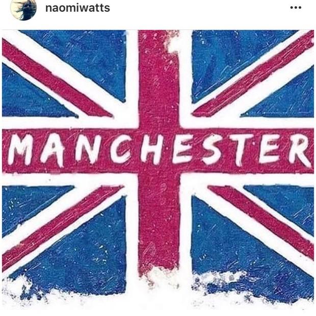 """Naomi Watts: """"Meu coração está com todos aqueles em Manchester"""" (Foto: Instagram/Reprodução)"""
