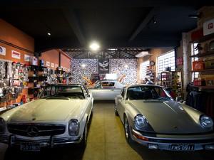Lojas antigos (Foto: Flavio Moraes / G1)