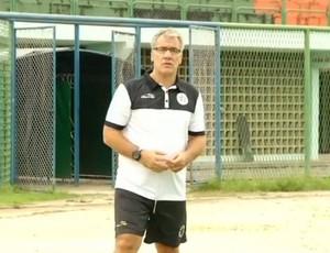 Alfredo Sampaio, técnico do Resende (Foto: Reprodução/TV Rio Sul)